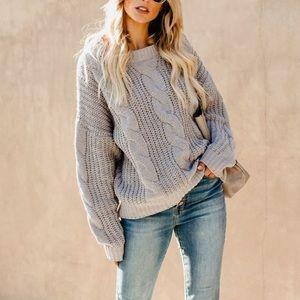 VICI Chenille Sweater 🌟